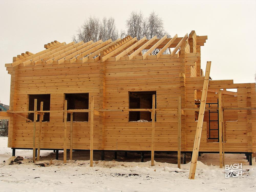 Строительство дома своими руками под ключ из бруса 47